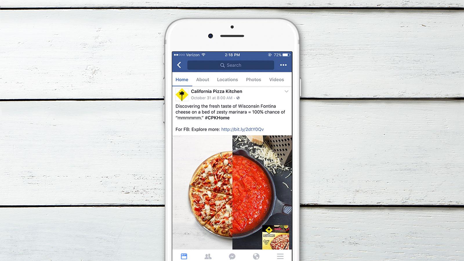 California Pizza Kitchen | Videos + Digital Content — Sophie Rose ...