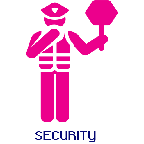 SECURITY   The MAD team takes security very serious and it is our #1 priority!! Top notch security with MAD extraction units will be provided for your safety & comfort. You and your MAD friends will have the peace of mind to really let the MAD times flow. We have security protecting every aspect of the band from start.... to the STAGE....to finish.