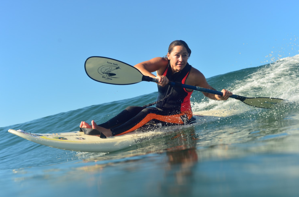 Nichols (above) says that surfing is more than simply a physical endeavor for her: It's spiritual. Photo: Courtesy of Alana Nichols