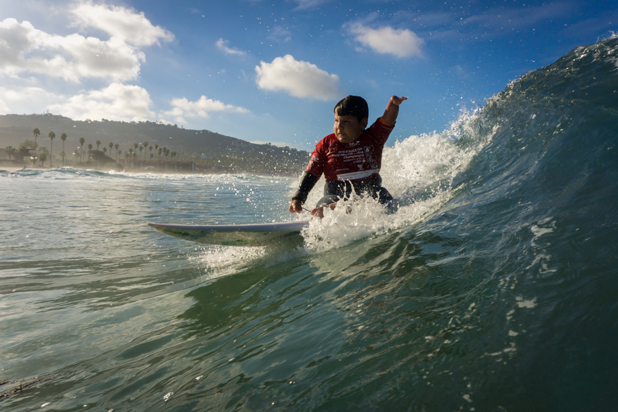 Eleven-year-old Davizinho's biggest dream came true as he was crowned World Champion. Photo: ISA / Sean Evans
