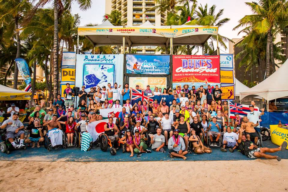 Competitors and volunteers. photo: Jason Rose