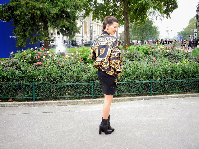 chanel, chanel spring summer 2014, pfw, paris fashion week, paris street style, grand palais