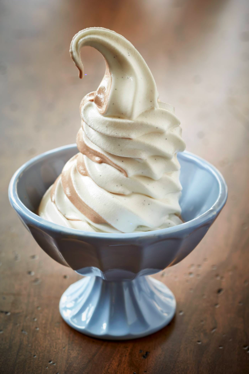 https://www.tastingtable.com/dine/national/soft-serve-ice-cream-flavors   This is Sfoglina's chocolate and vanilla swirl. They alternate between strawberry-vanilla and chocolate-vanilla