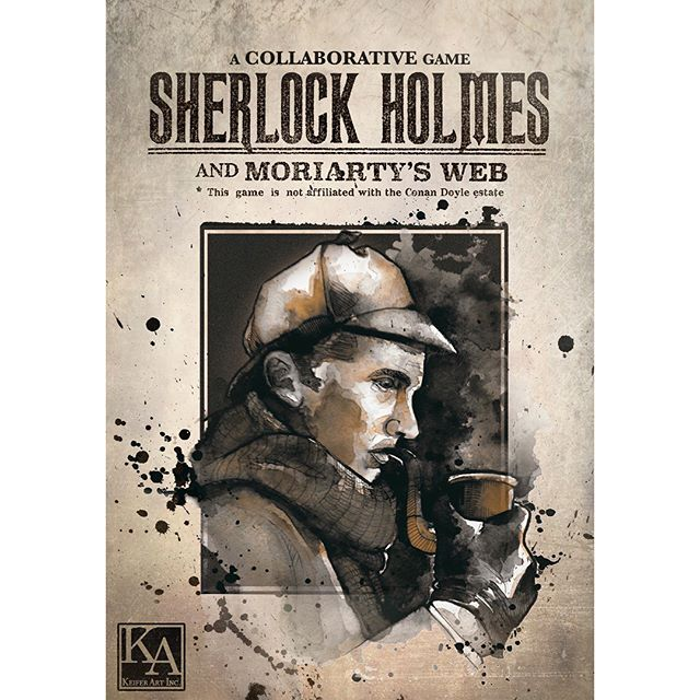 Happy to announce that our game is now available on Amazon! Go check it out!  #sherlockholmes #boardgames #amazon #kickstarter #fun #gamenight #mystery