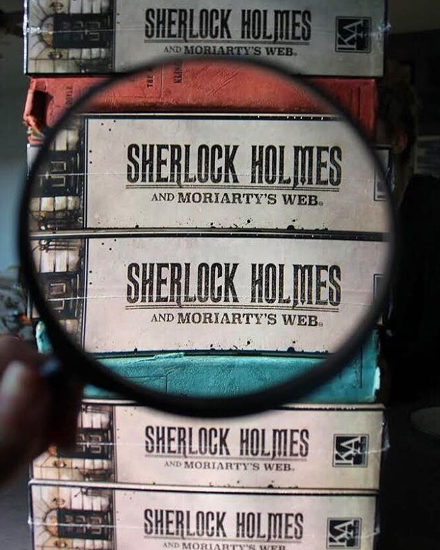 Where can you find your very own copy of Sherlock Holmes and Moriarty's Web? 🕵️‍♂️🔍 Find us at @barnesandnoble, @amazon, and our website!  #gamenight #strategy #fun #sherlock #sherlockholmes #amazon #barnesandnoble