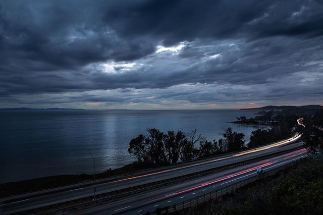 Santa Barbara welcoming some rain . . . . . #santabarbara #storm #seesb #canon #stormy #california #fall #landscape #landscapephotography #longexposure #longexposurephotography