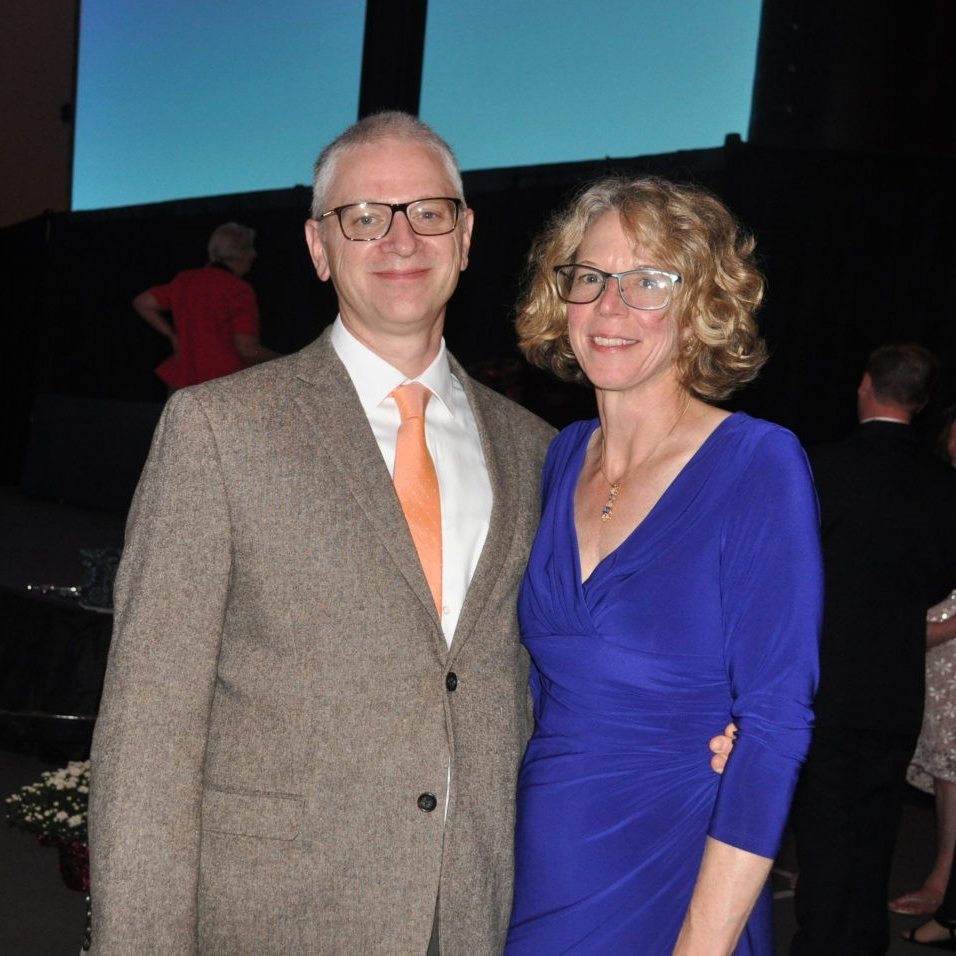 Matt, President of the SPITIT Fund, and his wife Lori Ferdock at the Spirit of Courage event in October, 2017.