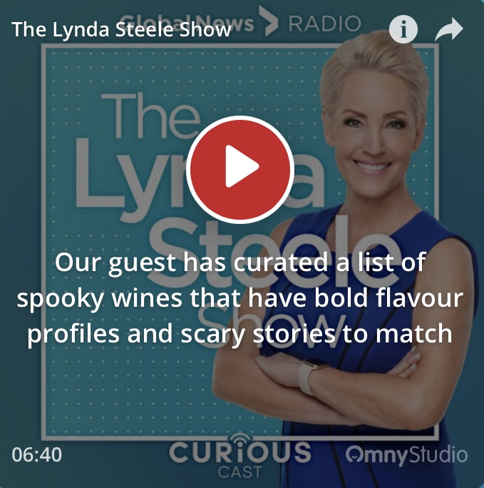 Our guest has curated a list of spooky wines that have bold flavour profiles… - October 30, 2018 by Lynda Steele