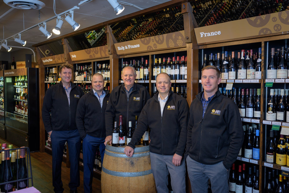 The Kettlewell Family & JAK'S - November. 19, 2018 By Joanne Sasvari / Liquor Retailer