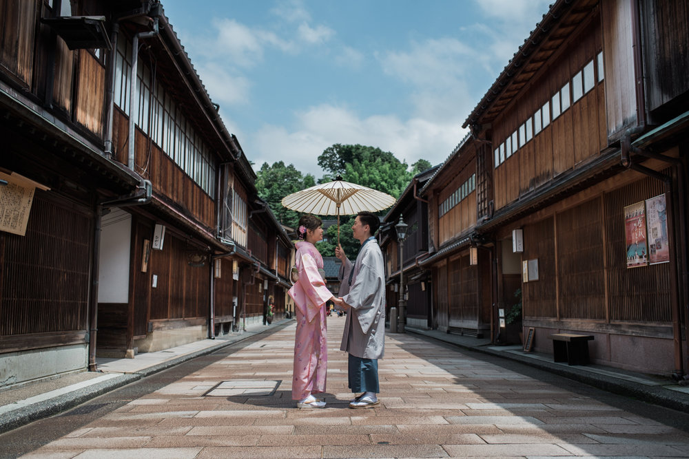 Prewedding & Engagement in Kanazawa, Japan