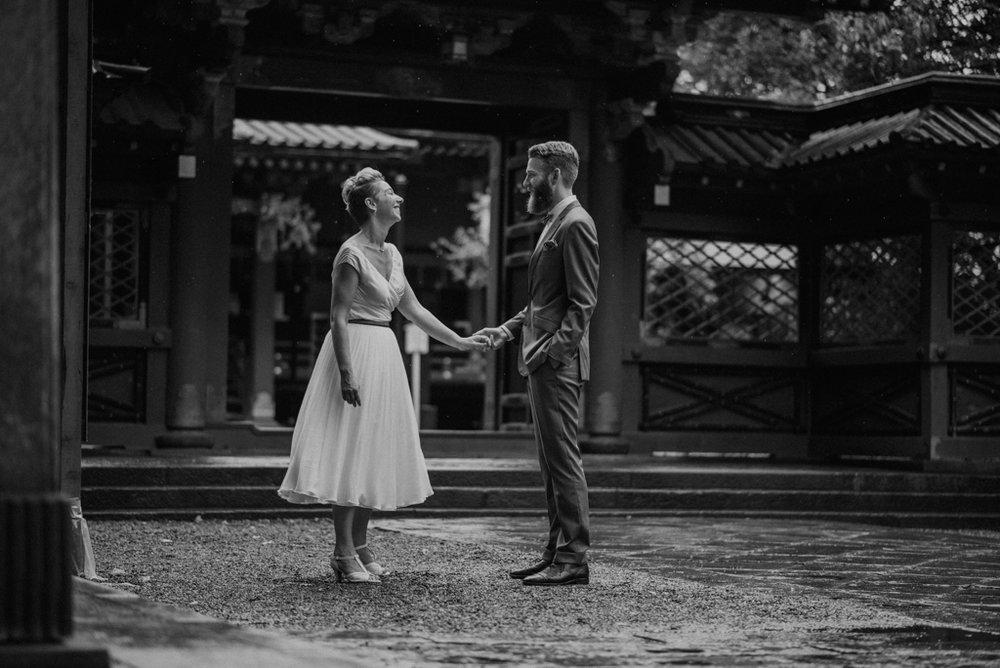 japan tokyo elopement wedding