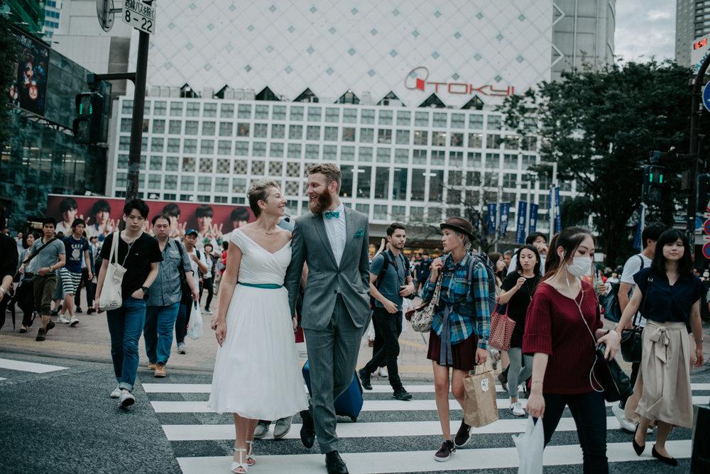 tokyo japan elopment shibuya