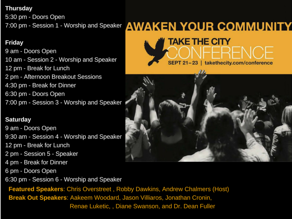 National Take The City Annual Conference