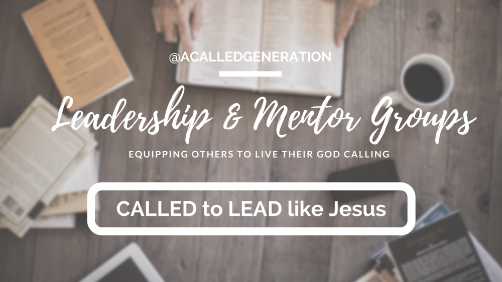 We offer several options for leadership and mentor training to equip leaders and young people to walk out what God has CALLED them to do. >Learn More