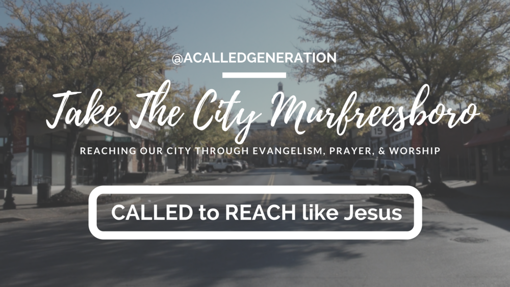 We'd love for your youth group, college group or adult small group to sign up for monthly Take the City Weekends which includes Friday night community worship and Saturday afternoon evangelism outreach from 2-5pm. We also offer a ministry leadership group on Take the City Saturdays from 12-2pm. Interested in connecting with us? Learn More