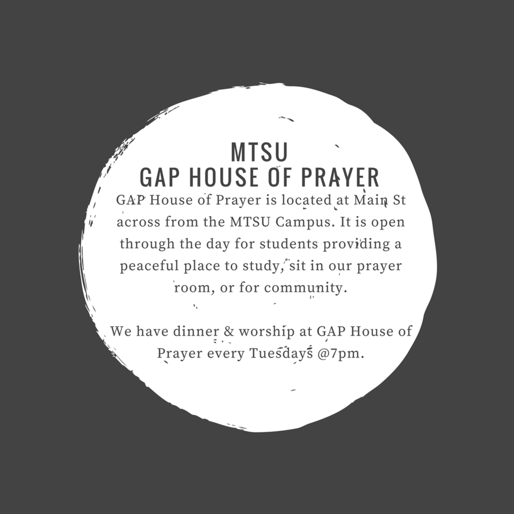 GAP HOUSE OF PRAYER