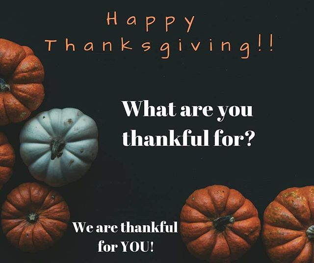 We are thankful for each and everyone one of you! Let someone know you're thankful for them today! #turkeyday #family #acalledgeneration #calledtogether #givingthanks