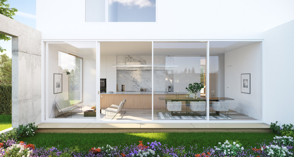 Lane B Garden & Kitchen Rendering