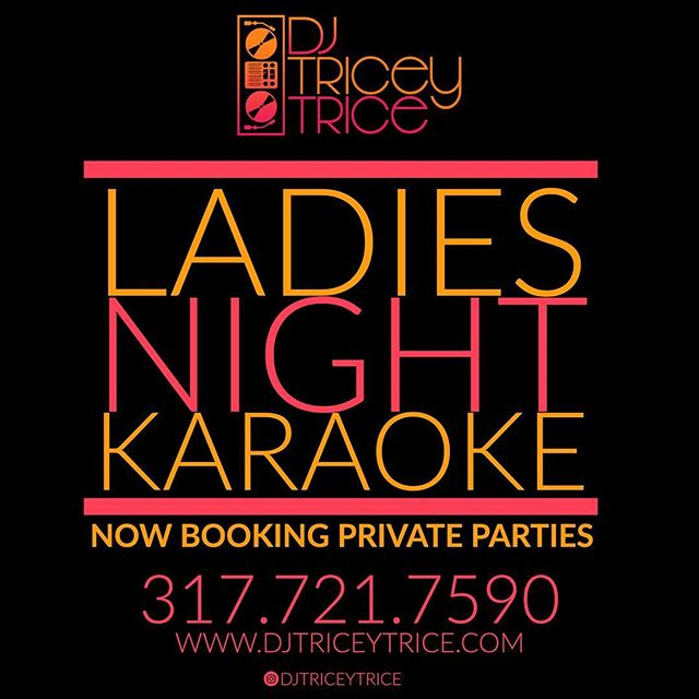 Plan your next ladies night🔥 NOW BOOKING PRIVATE PARTIES✌🏾 TAG YOUR GIRLS BELOW⬇️#privateparty #indianapoliskaraoke #indianapolisdj #karaoke #ladiesnight #ladiesnightout
