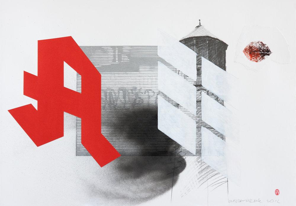 Das grosse rote A
