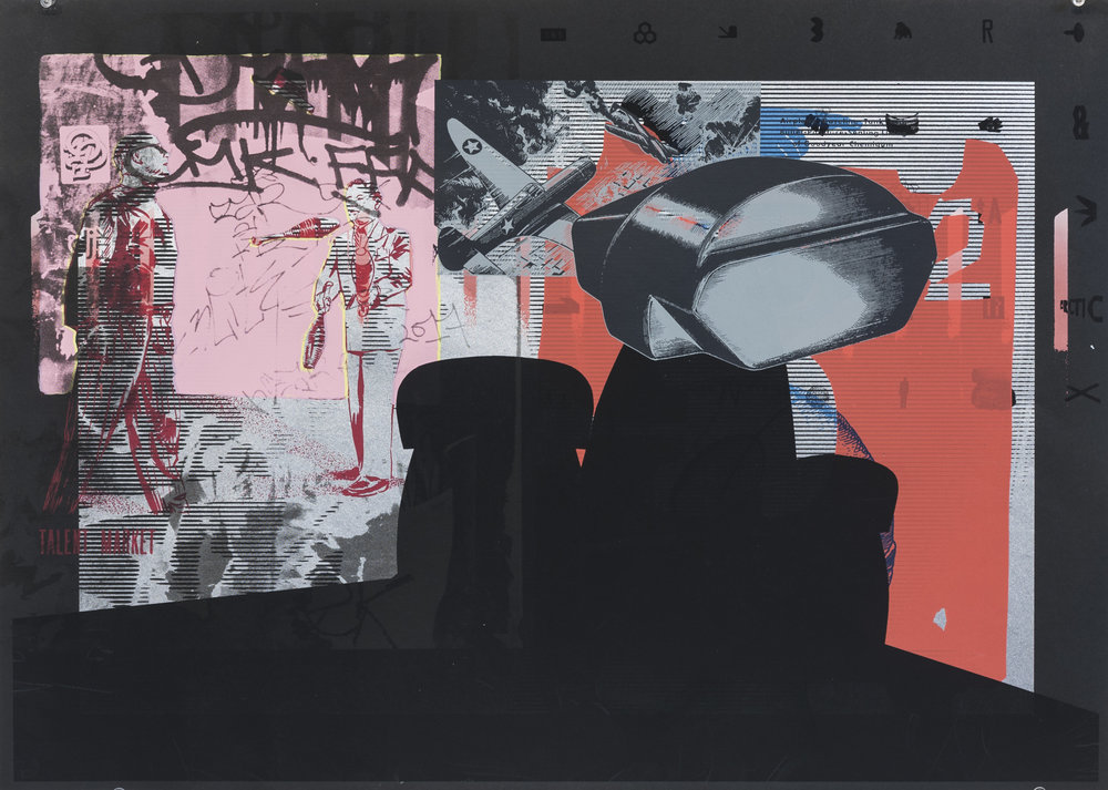 2018, silkscreen