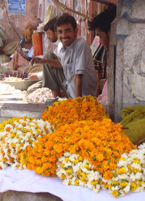 Market in Jaipur, India