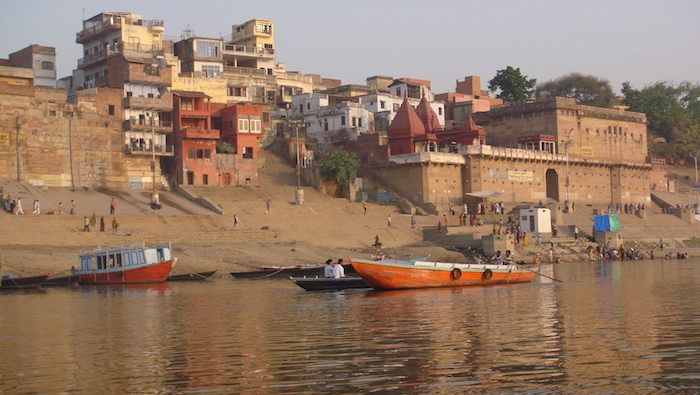 The Ganges of Varanasi, India