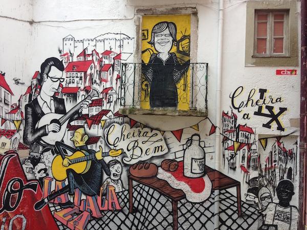 Fado Vadio: An urban tribute to F  ado   at Escadinhas de Sao Cristovao.   Image by  Jan Hamlet  shared under a Creative Commons (BY-NC-SA) license.