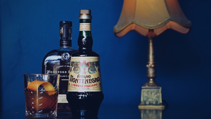 A spin on the classic Old Fashioned cocktail