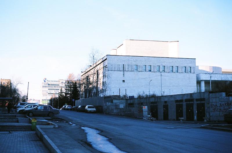 Industrial landscape of Krasnoyarsk. Image courtesy of  Aleks Ossie Pringles .