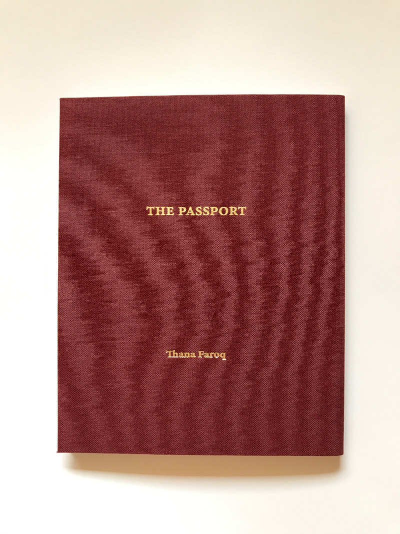 The Passport project: Cover.