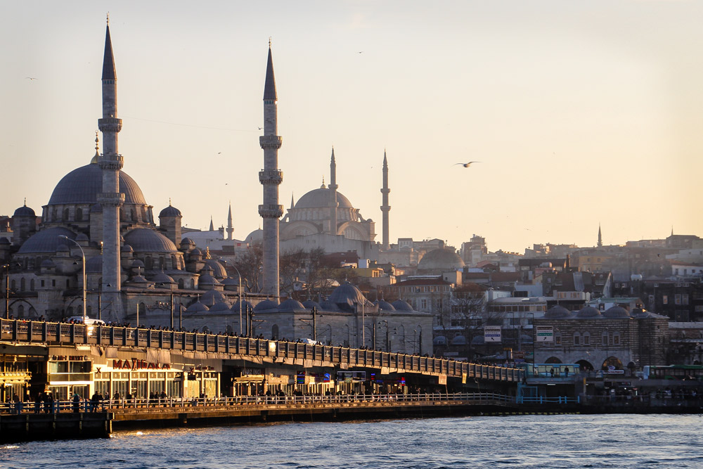 Istanbul, Turkey. Image courtesy of  Fabian Frei .