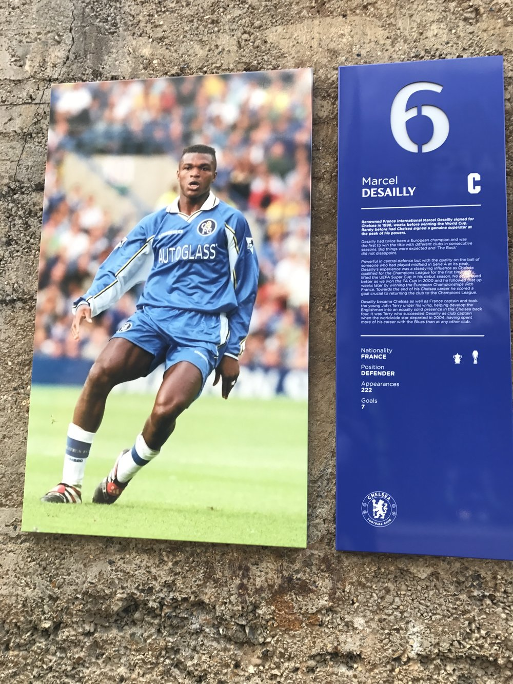 French Ghanaian Marcel Desailly