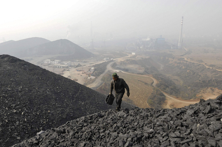 Coal became the everyday environmental catastrophe that we learned to live with. Photo via Reuters.