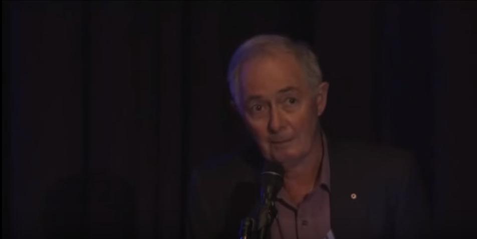 Ian Lowe. Still image from video