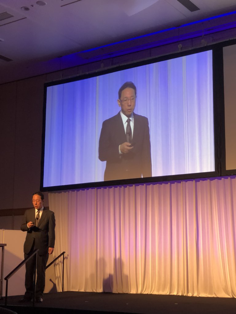 'Seeing is believing'. Naohiro Masuda, Vice-President, TEPCO.