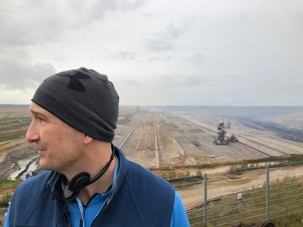 Just a thirty minute drive from the biggest climate change meeting in the world was the biggest lignite pit I have ever seen. Bonn, Germany.