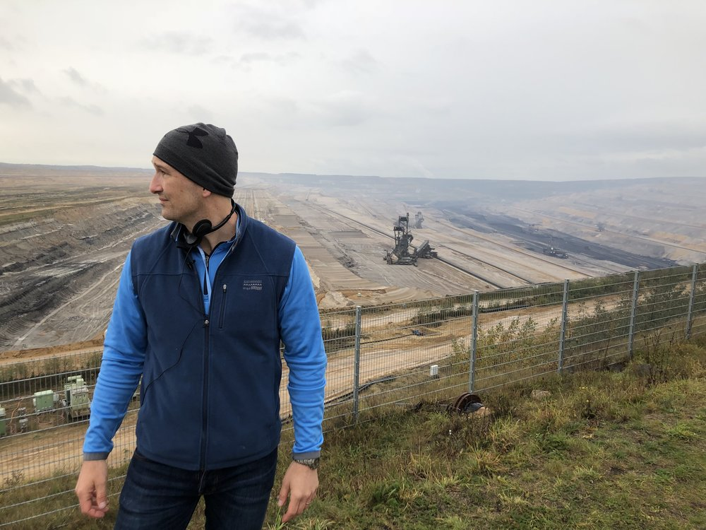 At a German lignite mine, Bonn climate change talks, 2017.