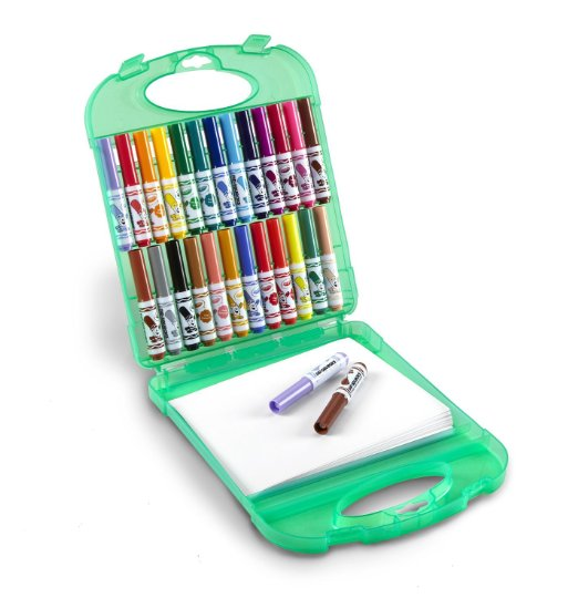 Crayola Pip Squeaks Travel (Washable) Markers Kit