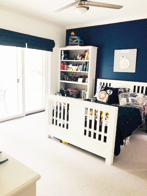 Sterling's Star Wars room