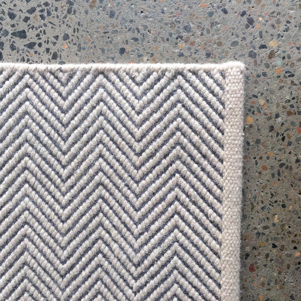 rugs vista vintage rug herringbone indigo carpets products