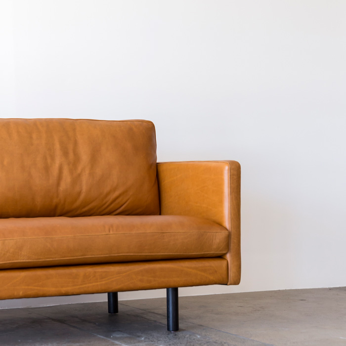 Jonah Sofa By Project 82.  Jonah_Sofa_2200_TheSofaMaker_Mustard_Establishing_Web_Project82.  Jonah_Sofa_2200_TheSofaMaker_Mustard_Angled_Web_Project82