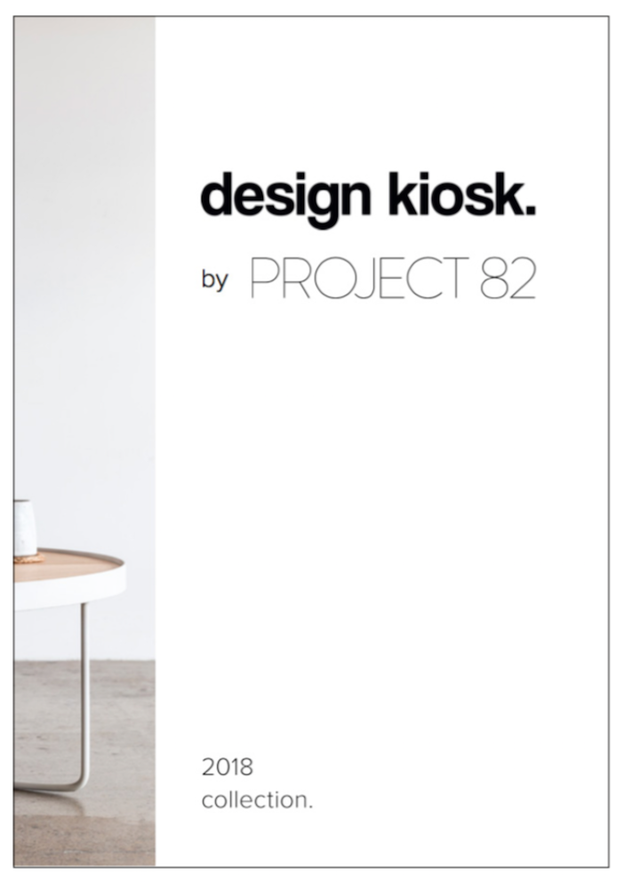 download our 2018 Design Kiosk lookbook