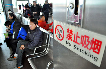 China Shows Little Progress in Kicking Its Smoking Habit