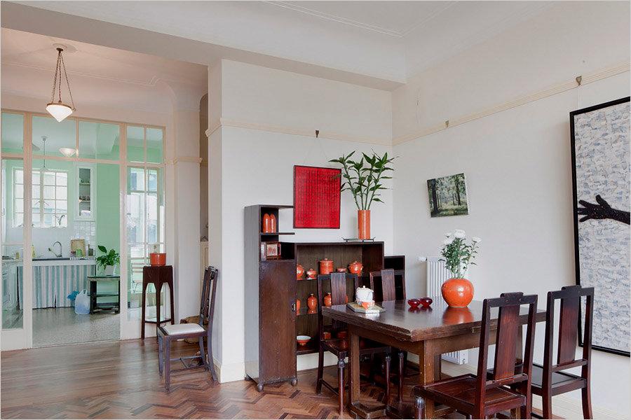 A Shanghai Apartment's Art Deco Splendor Restored