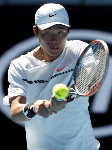 At Last, a Possible Future Star for Chinese Men's Tennis