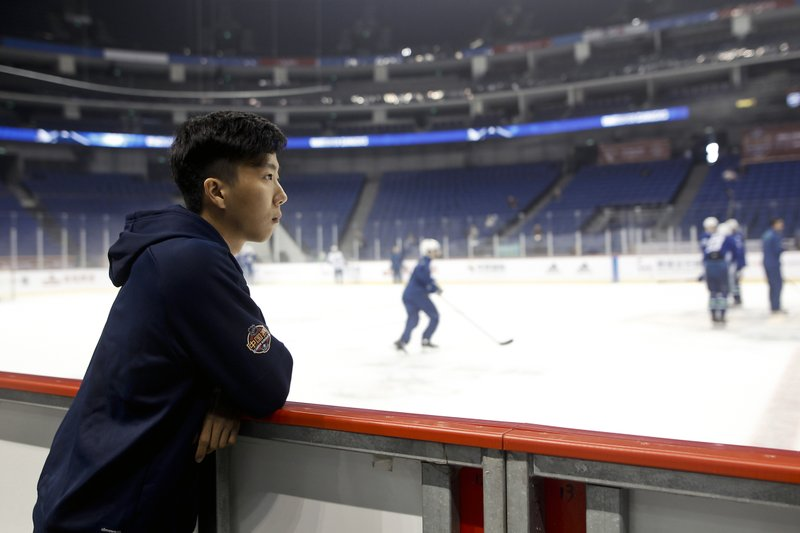 NHL Slowly Making Inroads to China