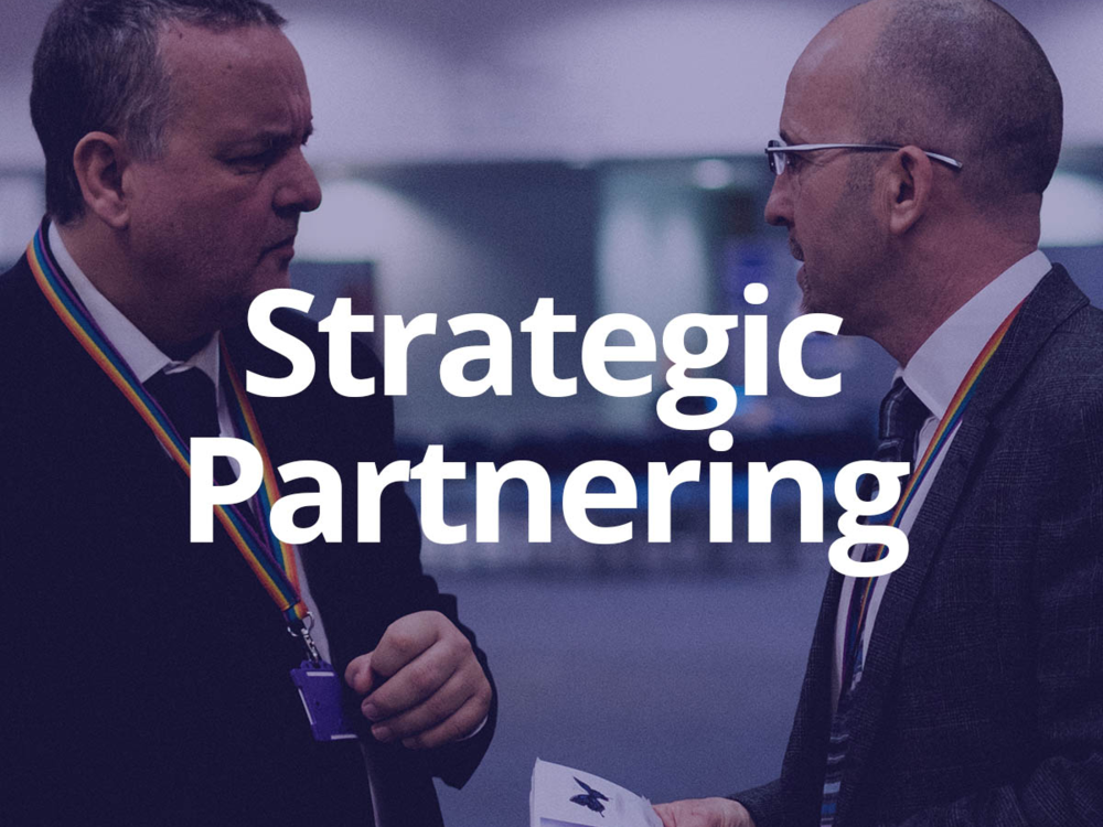 - Strategic Partneringis the pairing of your business with institution leads and department heads to add value in the construction of relevant and positive experiences of work.