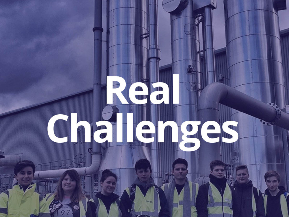 - Can young people solve the problems your teams are facing? With a minimum of one visit you can set up a real-world challenge that you can facilitate and review to any extent you wish.