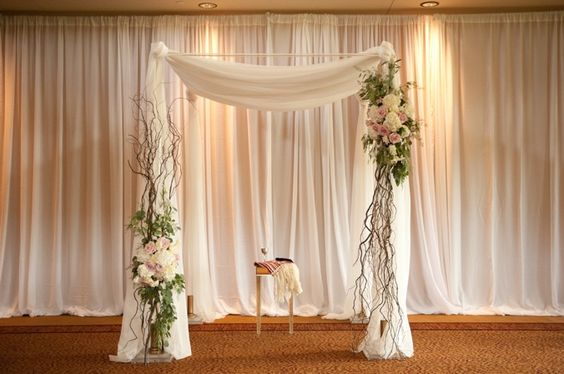Pinterest inspiration from a beautiful and elegant Jewish wedding in Minneapolis